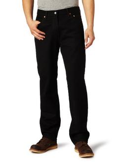 Levi's Men's 550 Relaxed-fit Jean, Black, 38X29