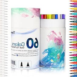 Artlicious - 40 Paint Brush Super Pack - Great with Acrylic,