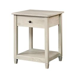 Sauder 419239 Side Table, Chalked Chestnut