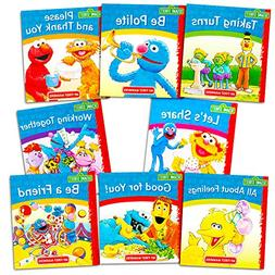 Sesame Street Elmo Manners Books For Kids Toddlers -- Set of