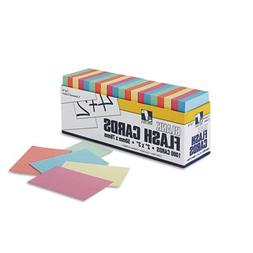 Blank Flash Card Dispenser Boxes, 2w x 3h, Assorted, 1000/Pa