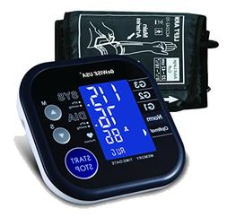 GoWISE USA Digital Blood Pressure Monitor FDA Approved Hyper