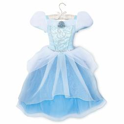 Disney Store Deluxe Cinderella Princess Costume Dress Girls