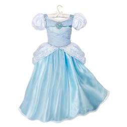 Disney Authentic Cinderella Princess Costume Dress Girls Siz
