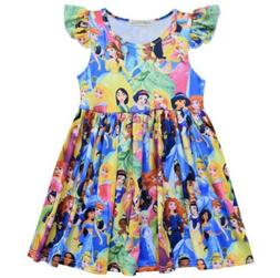 disney princess inspired boutique dress free shipping