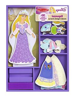 Melissa & Doug Disney Rapunzel Magnetic Dress-Up Wooden Doll