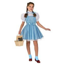 Dorothy Sequin Dress Girls 2T 3T S M Child Costume The WIzar