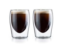 Double Wall Thermo Insulated Tea & Coffee Glasses - Set of 2