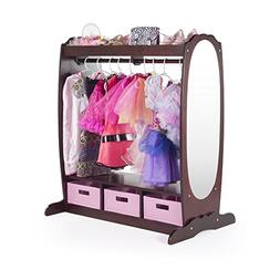 Guidecraft Dress Up Storage Center: Espresso G98099