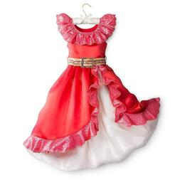 Disney Store Elena of Avalor Princess Costume Dress Up Girls