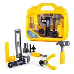 My First Tool Set in Sturdy Carry Case   Toolbox for Pretend