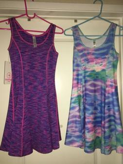 GIRLS Athlete Dresses = 90 degree BY REFLEX = SIZE Large 12