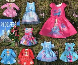 Girls Disney princess Dress Everyday,Pageant, Party, Prom,We
