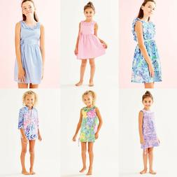 Lilly Pulitzer GIRLS SHIFT DRESS GEORGINA MINI NATALIE COVER UP MADELINA KIDS