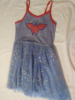 Girls Wonder Woman Dress new free shipping size 10/12