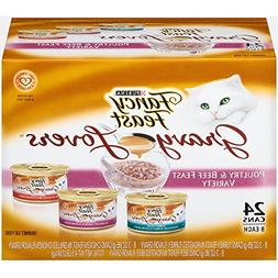 Fancy Feast Gravy Lovers Poultry & Beef Feast Variety Pack A