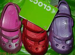 Infant/toddler Crocs sparkly dress shoes