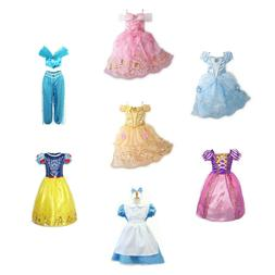 Kids Girls Christmas Costume Princess Fairytale Dress Up Bel