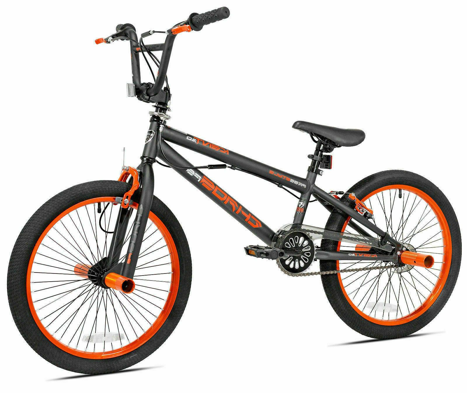 20in Kent Trick Bike 20 Inch BMX Freestyle Front Rear Brakes Pegs For Kids Boys
