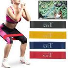 4X Exercise Resistance Loop Bands Workout Fitness Stretching