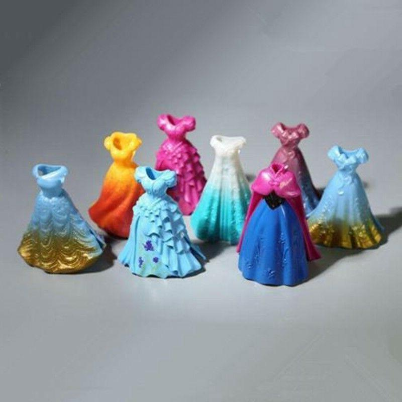 8PCS DIY Changed Disney Magiclip Action Figures Toy