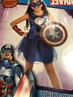 American Dream Marvel Captain America Fancy Dress Up Hallowe