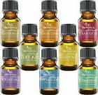 aromatherapy top 8 essential oils 100 percent
