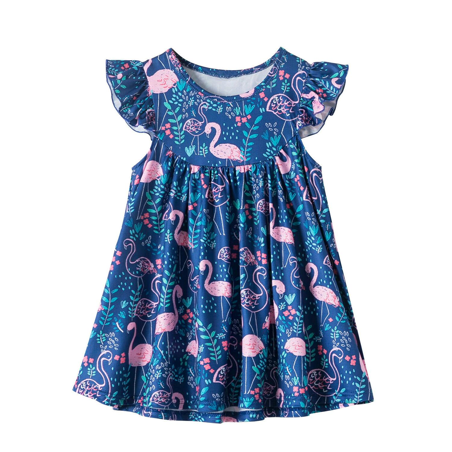 Baby Flower Lace Embroidery Princess Party Summer Clothes Size