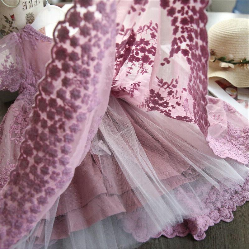 Lace Princess Party Summer Size