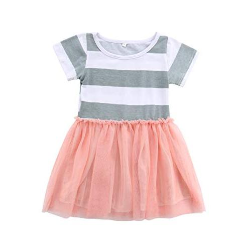 Baby Girls Dress Sleeves Tulle