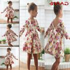 Baby Toddler Girl Dress Floral Princess Wedding Party Pagean