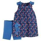 Carters 2pc Baby Girls-Size 3 Months-Seahorse Tunic Dress an