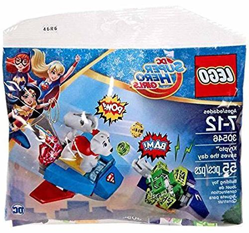 LEGO 30546 DC Super Hero Girls Krypto Saves the Day Polybag Brand New