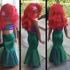 Disney Princess The Mermaid Ariel Little Girl Costume Cospla
