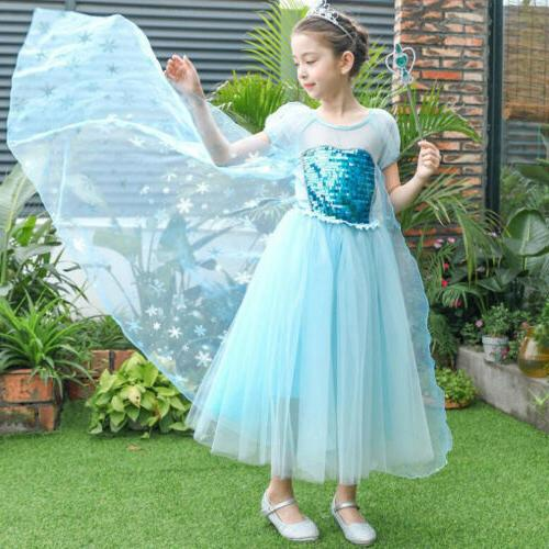Elsa Party Cosplay Tulle Hot