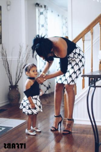 Mother Daughter Parent-child Outfit Dress