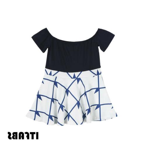Mother Clothes Parent-child dress Matching Outfit Mini