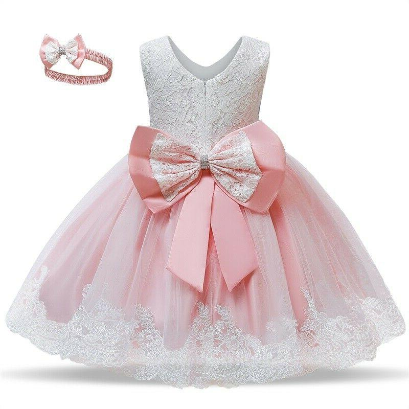 Flower Princess Bow Baby Birthday Party