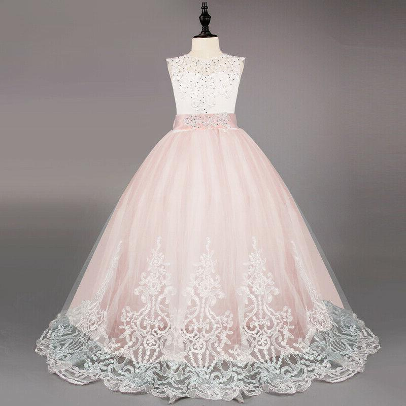 Flower Girl Princess Dresses Formal Gown
