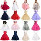 Flower Girl Princess Pageant Wedding Party Formal Gown Toddl