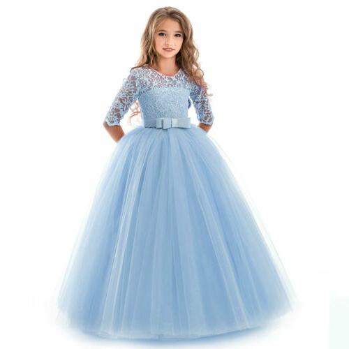 Party Gown Girl Long