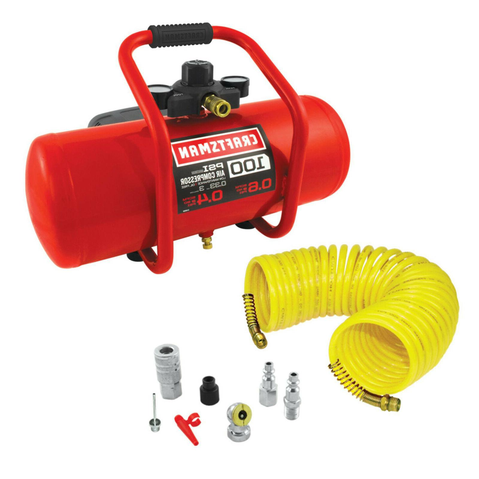 CRAFTSMAN 3gal Gal Portable Electric KIT 7 Accessories