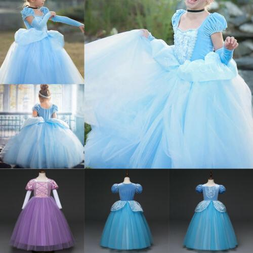 Toddler Anna Fancy Dress Cosplay Costume