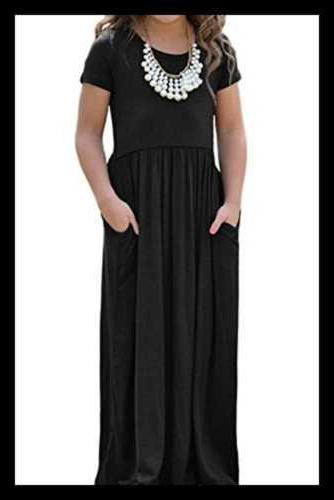 Alvaq Cap Soft Maxi Dress Casual 10 Black