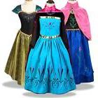Girls Toddler Disney Princess Costume For Birthday Cosplay P