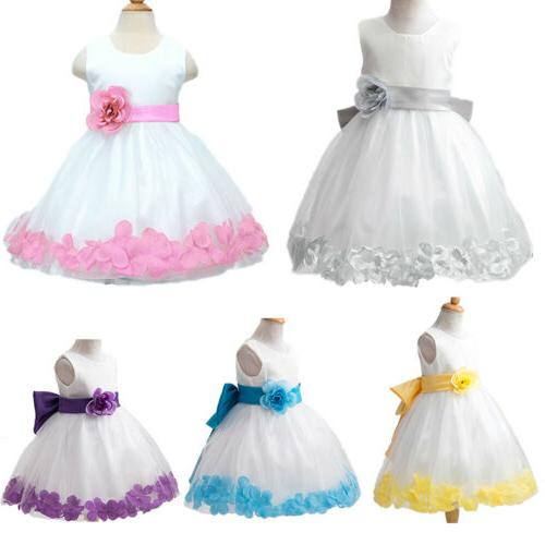 Kids Princess Party Pageant Wedding