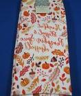 CYNTHIA ROWLEY KITCHEN TOWEL SET OF 2 PUMPKIN SPICE OBSESSED