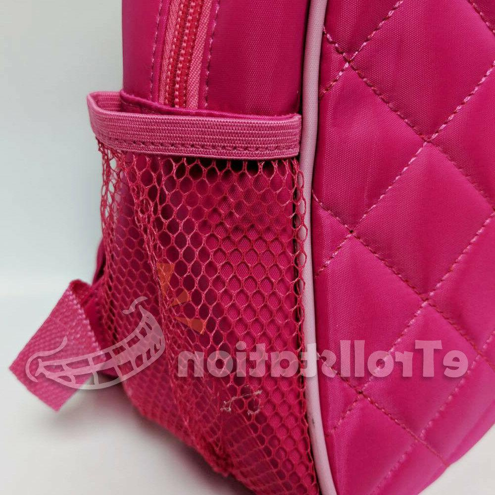 Lovely Girls Backpack Quilted Hot Fuchsia