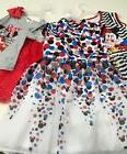 DISNEY MINNIE MOUSE GIRLS DRESS NWT SIZE 6/6X, 7-8, 10-12, 1