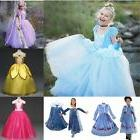 New Disney Princess Costume Kids Girls Cosplay Party Hallowe